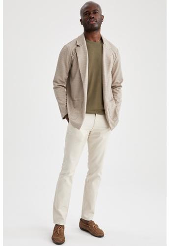 DeFacto brown Man Knitted Cardigan 11689AAAB91AEEGS_1
