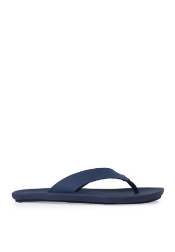 Minarno blue Blue Zain Strap Sandals B3272SHF4E0E64GS_1