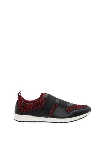 SEMBONIA red Men Microfiber Sneaker 047F4SH12E03CBGS_1