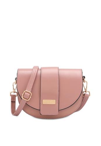 PLAYBOY BUNNY pink Half Moon Sling Bag 0C8DEAC924C627GS_1