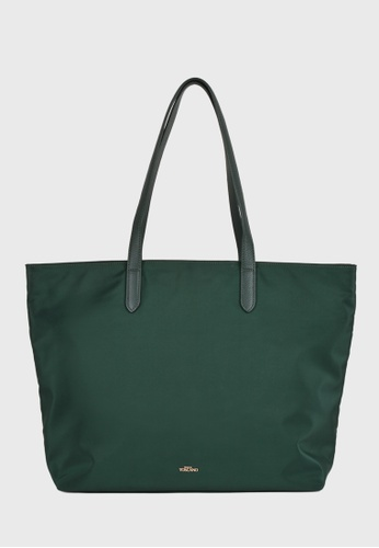Tocco Toscano green Aimee Nylon Tote (Green) 82773AC5A3AB8DGS_1
