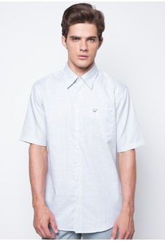 Cotton Three Color Tattersal Shirt