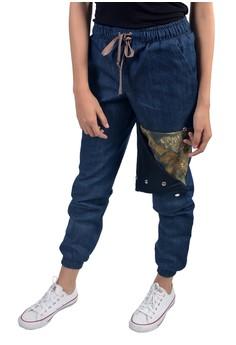Women's Joggger Pants Side Button