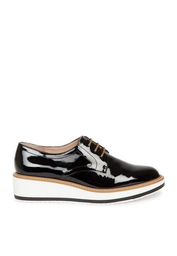 Andre black ADCHICAGO Shiny Laced-up Derby Brogues AN324SH0GGXNSG_1
