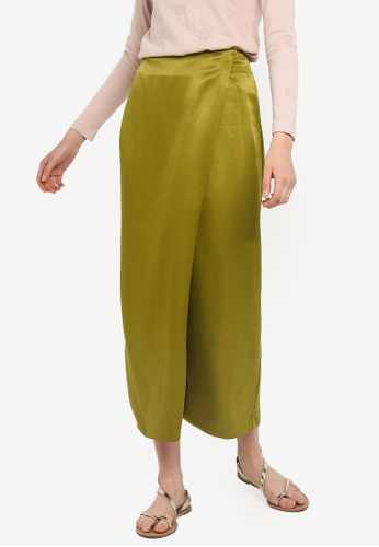 b64c440d4fa0c7 Buy Mango Flowy Textured Skirt Online on ZALORA Singapore