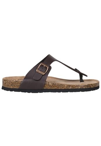 Tomaz brown Tomaz M21 Strap Sandal (Dark Brown) B5904SH3AED6BBGS_1