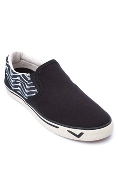 New School Slip On Sneakers