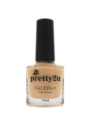 Pretty2u yellow Gel Effect Nail Lacquer 16 PR716BE94WRHMY_1