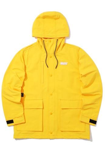 :CHOCOOLATE yellow Logo jacket 92E86AAF2E9AAFGS_1