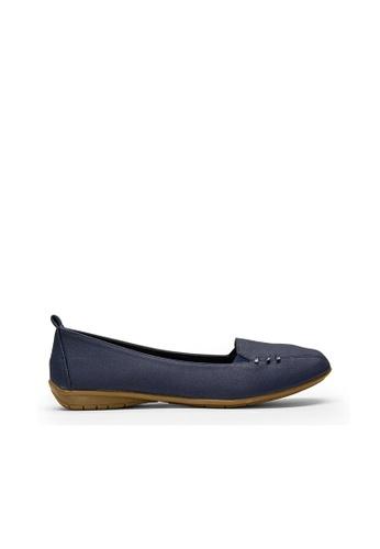 SEMBONIA blue SEMBONIA Synthetic Leather Loafer (Dark Blue) 179E8SHC141FADGS_1