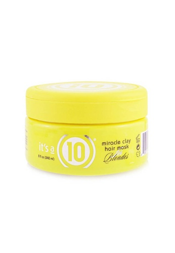 It's A 10 IT'S A 10 - Miracle Clay Hair Mask (For Blondes) 240ml/8oz 72DEABED21B3CFGS_1