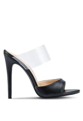 Carlton London black Persplex Heels B1D5BSHAF3202EGS_1