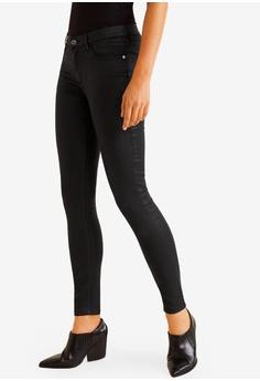 6447251e8903f Mango black Skinny Coated Jeans 1FE16AA2C2A647GS_1