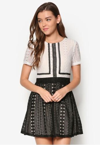 Shontell esprit台灣outlet蕾絲洋裝, 服飾, 洋裝