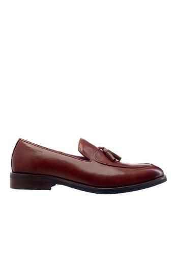 Obermain brown Obermain Men's Alex Daniel-Slip On Loafer Dark Brown 7FDFASH76D946CGS_1
