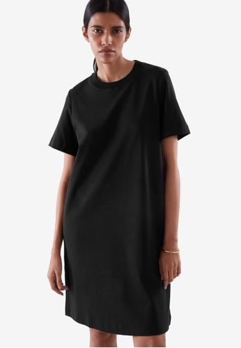 COS black T-Shirt Dress 4B7A6AA595E5E9GS_1