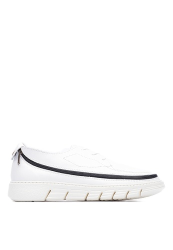 Life8 white Men and women casual leather 2-way casual shoes sneakers-09651-white LI286SH0RPBJMY_1
