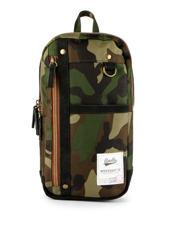 Anello green Vertical Body Bag AN804AC0WBW1ID_1