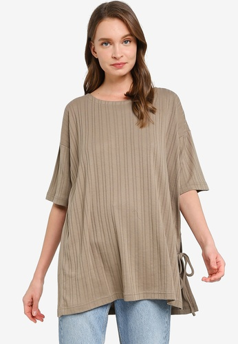 niko and ... brown Casual Knit Pullover 768C3AABB1968BGS_1