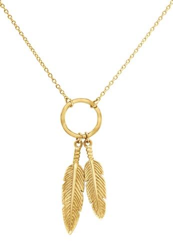 Pastiche gold Dream Catcher Necklace B9446AC4999018GS_1