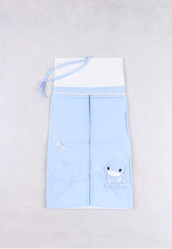 kukuduckbill blue Kuku Duckbill Diaper Stacker Ku2356-Blue B82ACKC0640335GS_1