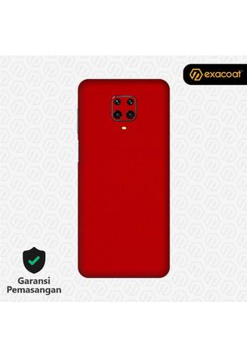 Exacoat Xiaomi Redmi Note 9 / Note 9 Pro 3M Skins True Colors - Lust Red 57466ES036D303GS_1