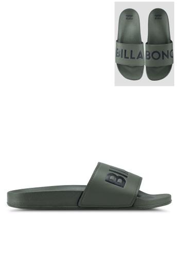 Billabong green Poolslide Sandals 77608SH3722326GS_1