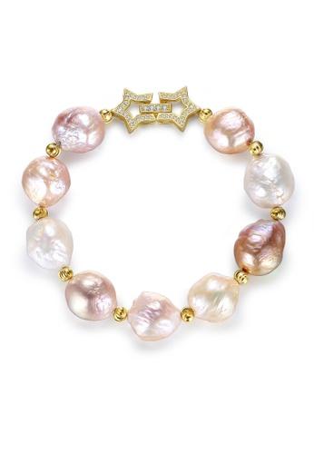 SUNRAIS gold Premium Color Stone Gold Fashion Bracelet 97852ACECA6029GS_1