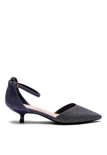 Twenty Eight Shoes blue Glitter Strap Mid Heel 395-1 99167SH8F98E76GS_1