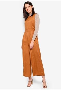 5d12930ce287a BYN Box Pleat Jumpsuit RM 79.90. Sizes S M