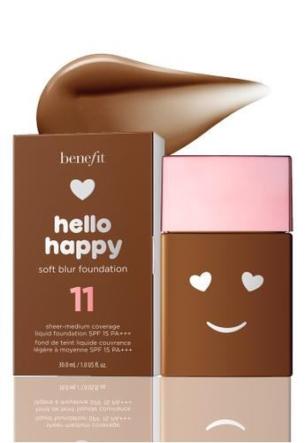 Benefit beige Hello Happy Soft Blur Foundation Shade 11 1BDB0BE2A534D5GS_1