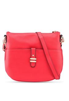 8b064d7c2b91 Red Double Bar Messenger Bag A8B9AAC100FE2CGS 1