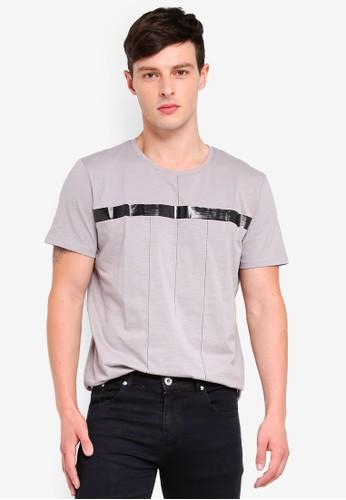 Fidelio grey Line Simplicity Tee 27071AA03D6A57GS_1