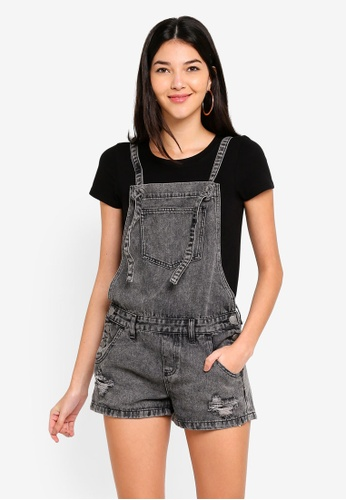 Cotton On black The Classic Overall F5B45AA0B2FC8DGS_1