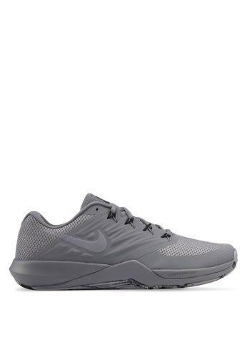 Nike grey Men's Nike Lunar Prime Iron II Training Shoes NI126SH0STRCMY_1