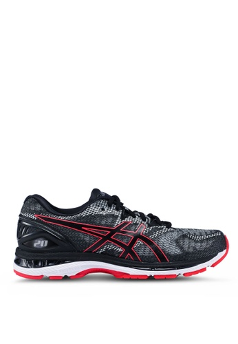 Asics black Gel-Nimbus 20 Shoes BDE09SH054E5EDGS_1