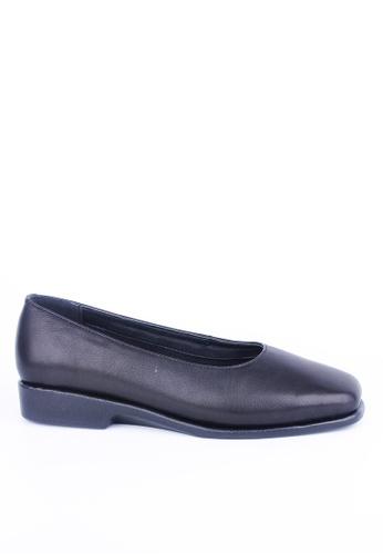 Twenty Eight Shoes black Flexible Uniform Flats JDI-FLEX 9239ESH8D44638GS_1