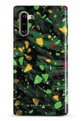 Polar Polar green Malachite Terrazzo Gem Dual-Layer Tough Case Glossy For Samsung Galaxy Note10 EB9FAAC3D1A86BGS_1