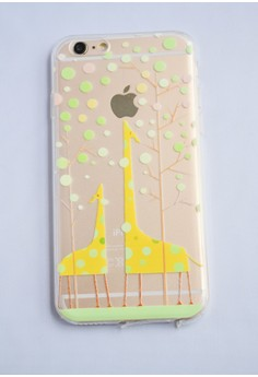 Zebras and Trees Soft Transparent Case for iPhone 6