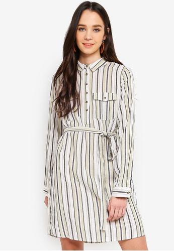 0fa19e3a027b Shop Cotton On Woven Tammy Long Sleeve Shirt Dress Online on ZALORA  Philippines