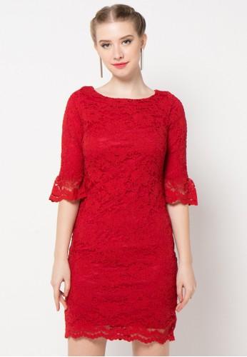EPRISE red Dress EP457AA70NQBID_1