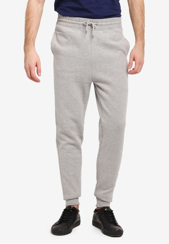River Island grey Basic Jogger Pants RI009AA0SJCXMY_1