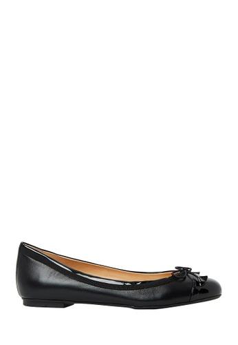 Nina Armando black Juliana Leather Ballet Flats NI342SH0FV91SG_1