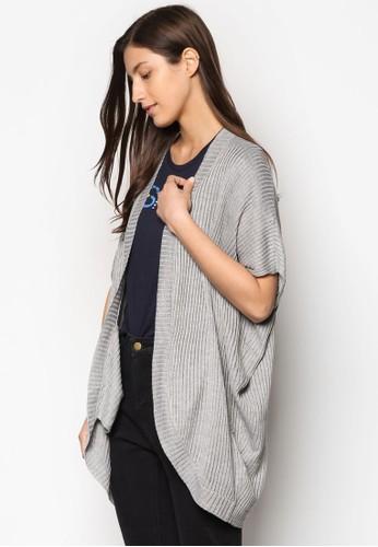 羅紋開襟短袖外套、 服飾、 服飾ESPRIT羅紋開襟短袖外套最新折價