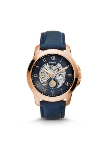 Fossil GRANT機械男錶 ME3054, 錶類, 紳esprit官網士錶