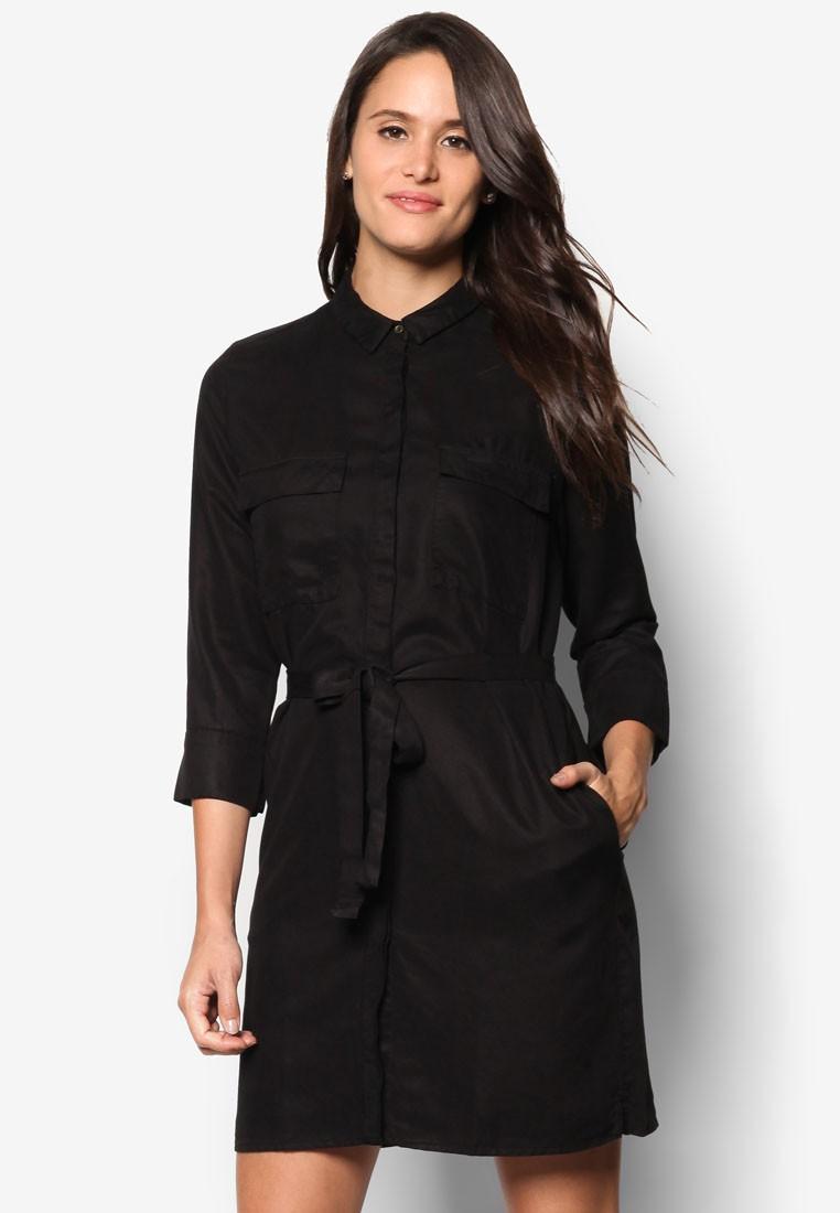Belt Shirt Dress