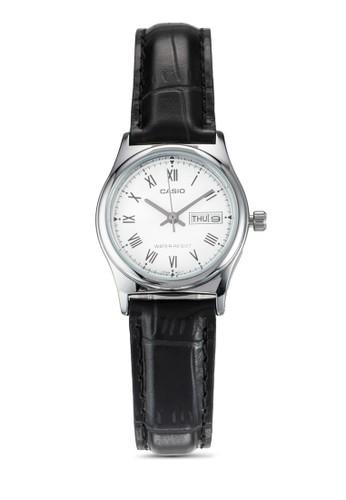 羅馬數字皮革esprit 內衣小圓錶, 錶類, 飾品配件