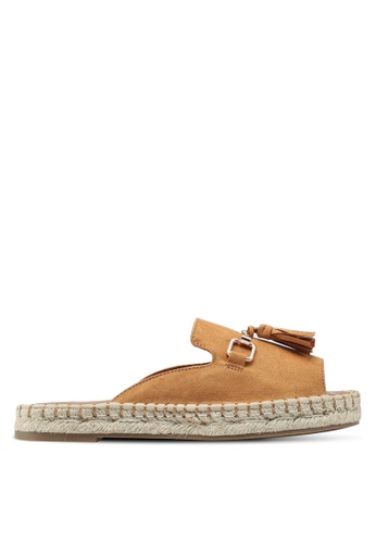 River Island brown Espadrille Sandals 4B228SH57B980BGS_1