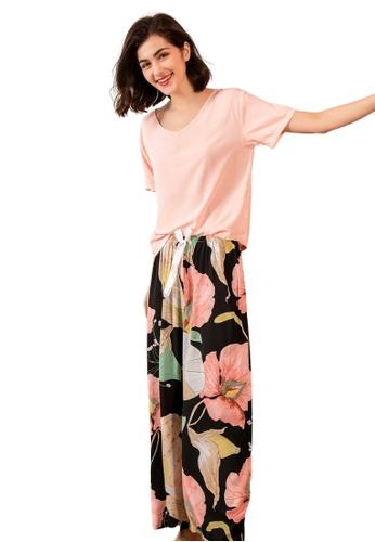 RAISING LITTLE multi Emille Loungewear Pants Set 80484AAD077221GS_1