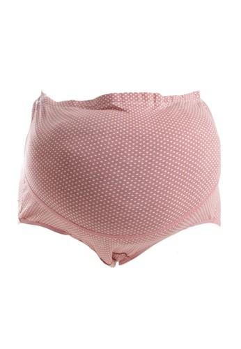 Eve Maternity pink Comfort Polkadots Maternity Pants EV584US25LXQID_1